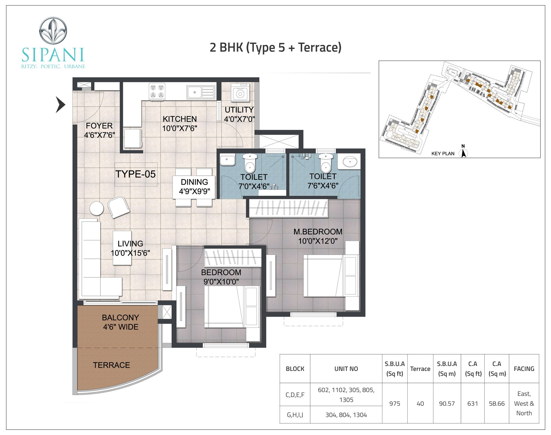 2_BHK_(Type_5+Terrace)
