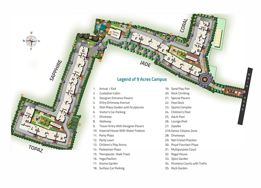 SRH Site Plan